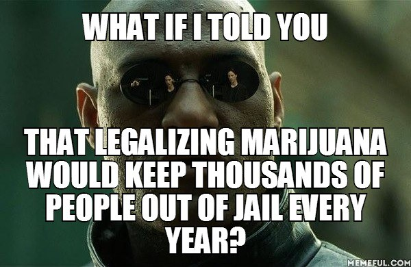 What if I told you that legalizing marijuana would keep thousands of people out of jail every year?