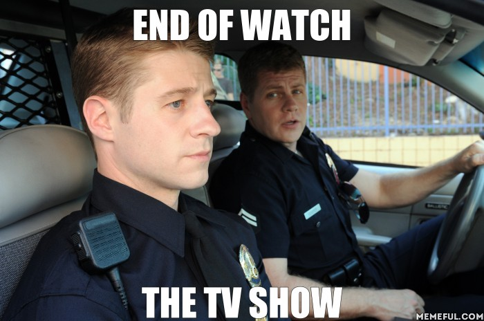 end of watch the tv show